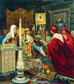 250px-Alexander_Nevskiy_receiving_papal_legates_by_Siemiradzki_(litography)